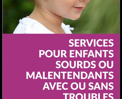 Visuel plaquette de communication des services enfants
