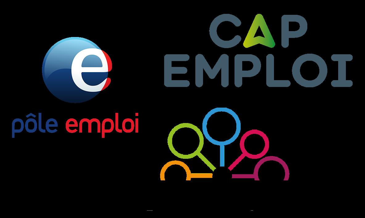 Logo des prescripteurs ou service public pour l'emploi