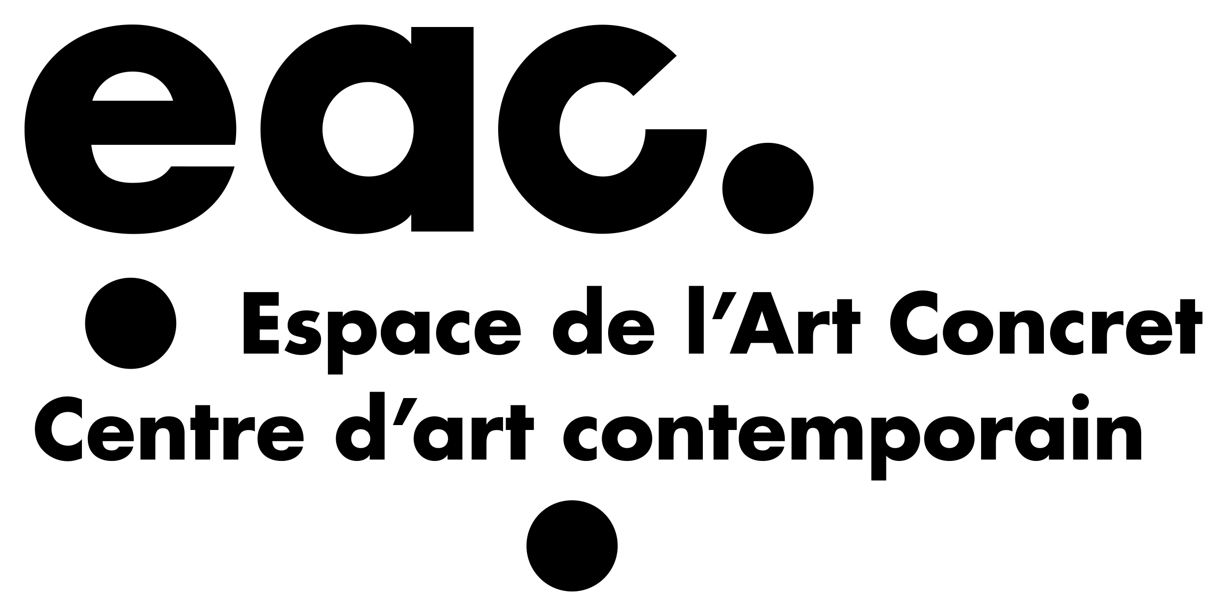 Logo de l'Espace de l'Art Concret de Mouans Sartoux